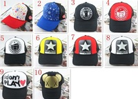 Free shipping 2013 New popular Summer Tidal mesh cap lorry cap Trucker hats hip-hop style hat and peaked cap hip-hop cap visor