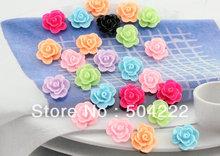cheap resin flower cabochon