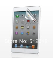 Free shipping,Hotsale High Clear Screen Protector for iPad mini Screen film for iPad mini with retail box