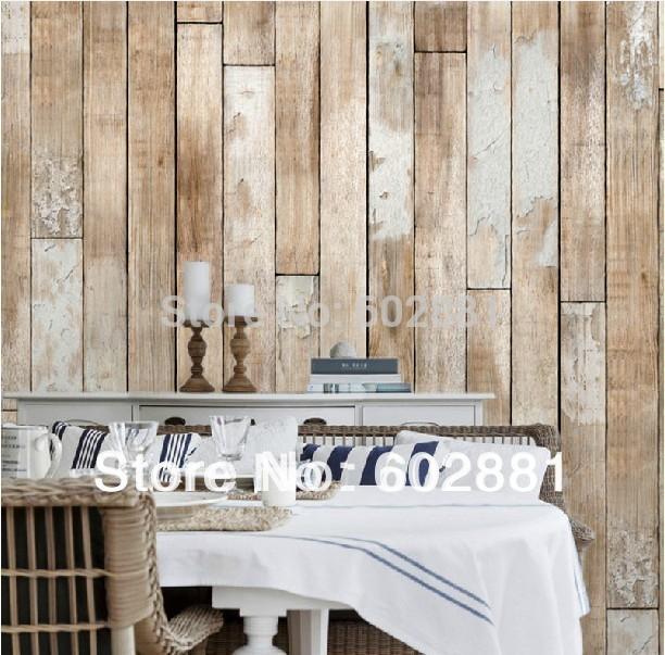 Aliexpress.com ... Wood Wallpaper Bedroom