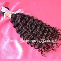Fairy hair products Grade AAAAA free shipping 100% cheap Malaysian Hair Extensions Malaysian curly hair 3pc malaysian deep curly