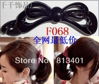 free shipping! Hair accessory accessories bow vertical clip banana clip Large Medium Small ccbt side-knotted clip