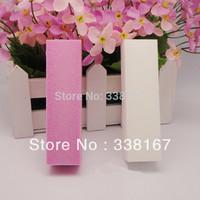 Free Shipping 10 pcs Buffer Acrylic Nail Art Sanding Block Files 100% Brand New Nail File