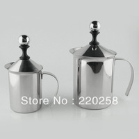 800ml stainless steel Cappuccino nespresso milk frother ,milk foamer,foam maker with filter, factory direct sale