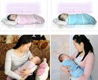 Sample order NEW Baby Swaddling holds newborn blankets ANBEBE infant parisarc Pink, blue for 0-3M