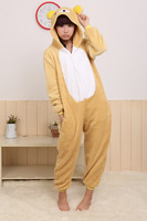 Bear Anime Cosplay Christmas Costumes Kigurumi Onesie Adult Pyjamas Sleepwear Nightclothes For Hallowmas Free Shipping