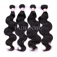 "Queen Hair Products Malaysia Body Wave,100% human virgin hair,Mixed Lengths(12""-24""), Natural Hair Extensions, Unprocessed Hair"