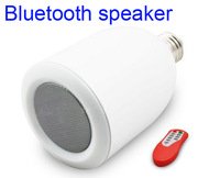 2013 new LED Lamp bluetooth speaker Audio Speaker Music Playing 1pcs Free DHL
