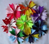 NEW, flower hair clip cute hairpin Girls' hair bow, Baby grosgrain ribbon bows , hairs clips cc31