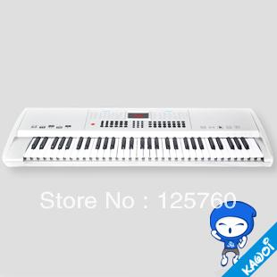 Professional keyboard music function 61 key 6.9kg free shipping