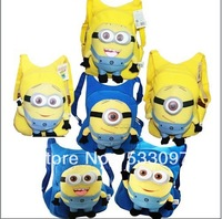 Despicable me milk minions plush toy doll school bag messenger bags for school free shipping