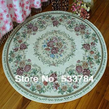 Free Shipping Rustic circle carpet-160 160cm