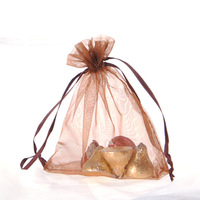 100pcs/lot  Organza bags 15X20cm Freeshipping High quality Organza pouches cufflinks jewellery wedding gift bags pouches