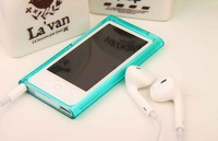 1pcs Transparent Matte Soft Silicone Case For Apple iPod Nano 7 7th + Free shipping,D0158