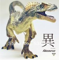 Free shipping SIMULATONG Frence PAPO Jurassic Park Dinosaur toy Dinosaurmodel Dinosaur dolls Allosaurus model dolls