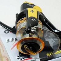 the spinning fishing SG4000 Superior Fishing Reel Baitrunner Ryobi 6+1BB line winder /Biggest promotion free shipping