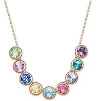Fashion Austria Crystal  multi  color  balls Austrian rhinestone crystal pendant necklace for woman