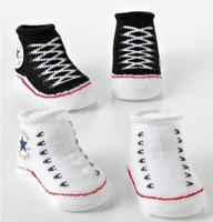 Europe popular cute fake shoes and socks newborn baby socks socks 0-12M