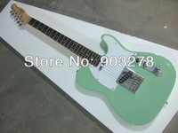100% New arrival light green Telecaster Electric Guitar    tele25