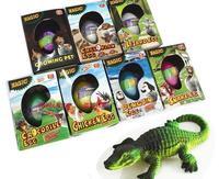 Free Shipping 3pcs/Lot Wholesale Dinosaur Egg Cracks Growing Eggs Educational Toys Magic Children Bionic Gifts 10.5*5.5*7.5cm