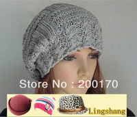 Hot Sale High Quality Beautiful Big Ball Decorative Free Shipping Knitted Hats Skullies & Beanies,LSK12