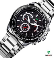 With Box,Genuine JAPAN movement!!! WEIDE men's high quality quartz watch ,WH1111,24-hour dispatch,12-month guarantee