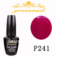 hot sale Soak off uv gel set color nail gel nail polish set  uv color gel topcoat the gel varnish gel polish color P241