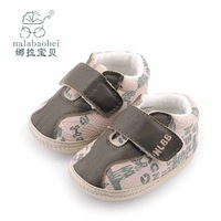 2014 Nalababy shoes spring and autumn baby shoes soft  shoes for kids slip-resistant outsole single toddler shoes 0-6 months