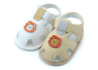 2014 New Arrival  Sandals Nalababy Newborn shoes summer shoes soft outsole male shoes infant sandals first walkers