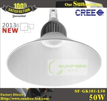 AC100-240V 50W CREE Chip Aluminum LED High Bay energy saving Mining Lamp Industrial Warehouse Lamp =100~500W Metal halide lamp