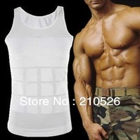 New brand Slim N Lift for Men Slimming shirt firming panels underwear vest same as in TV without box package 1pc Free shipping