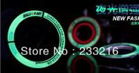 Mitsubishi lancer outlander ignition switch decoration stickers key hole protection circle luminous