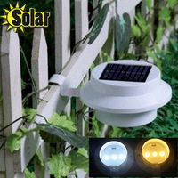 Free shipping 3Leds Solar Wall light Eaves light Fence light Corridor light Garden Light Solar outdoor light AliExpress