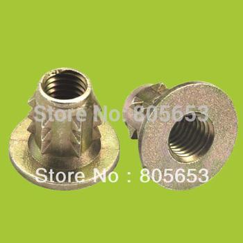 M8*13 zinc alloy nut furniture nut in hardware(NZ2213)