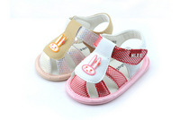 2014  First walkers NalababyBaby Summer New Arrival shoes Soft Outsole Sandals Shoes Baby Soddler Shoes Rabbit Paster Baby shoes