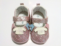 First walkers baby shoes soft outsole skid resistance baby princess shoes spring and autumn single shoes  baby  girl  shoes
