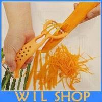 Free Shipping,Hot Colors Vegetable Fruit Peeler Parer Julienne Cutter Slicer Kitchen Easy Tools Gadgets Helper
