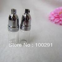free shipping!! wholesale 200pcs Perfume / oil   bottles pendants copper head screw   31mm*12mm&   jewelry findings