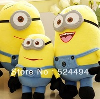 Free Shipping New Arrival Hot selling 2013 Minion Despicable ME Movie Plush Toy 24cm Minion Jorge Stewart Dave xqw191