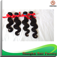 "Wholesale Cheap 4PCS /LOT 14""-30"" Peruvian Virgin Human Hair Body Unprocessed Virgin Peruvian  Hair Wavy 50g  Free shipping"