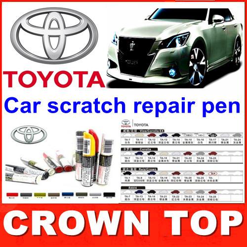 2013-new-arrival-Car-scratch-repair-pen-auto-paint-pen-for-Toyota