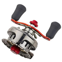 Hot sale!! GOOD QUANLITY !WANLITE lure reel  Baitcasting fishing reelMommi wheel  former lead round fishing bait casting reels