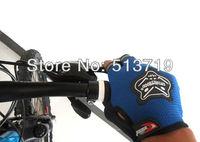 Freeshipping Bicycle Bike Half Finger Cycling Gloves Pad Mesh w/ Gel pair