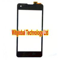 "Free 3M Tape + Original Touch Screen Digitizer 4.7"" Highscreen Omega Prime S Smartphone touch Panel Glass Replacement Free Ship"