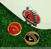 Golf hat clip golf equipment ball-marker cap clip