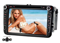 Car CD DVD Player For Volkswagen Scirocco Passat Golf SKODA EOS SEAT Free Camera