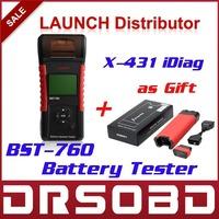 100% Original Launch BST760 Battery System Tester BST 760 Multi-Languge choose Built-in thermal printer BST-760 Battery Tester