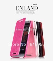 Free Shipping,100% Original Kalaideng Enland series PU+Microfiber Flip Leather case For HTC One mini M4