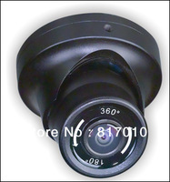 2013 New arrival 360 wide Angle with Fisheye 1.2mm Lens  CCTV Dome Camera KA-C360