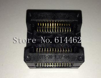NEW SOP 28Pins Open Top Burn-in Socket OTS-28-1.27-04
